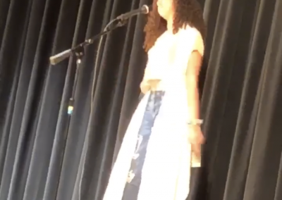Jasmine Performing at Show